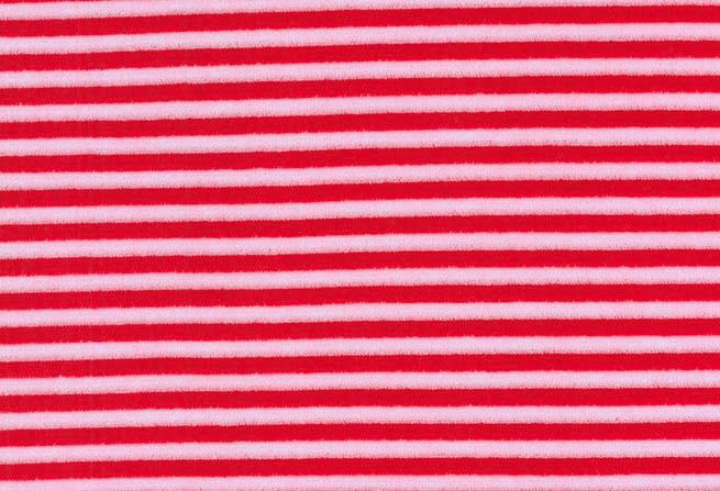 Westfalenstoffe * Nicki rosa Streifen * Kinderstoff * Naturstoffe